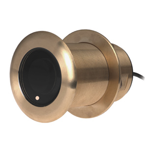 Bronze Thru-Hull Mount Transducer with Depth & Temperature (0° tilt) - Airmar B75H