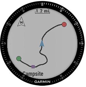 Garmin Fnix® 3 Sapphire Hr - Silver With Titanium Band